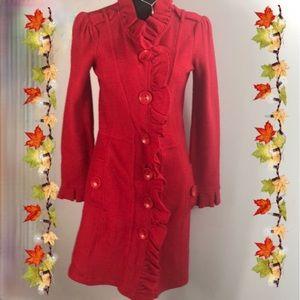 Madison wool cardigan jacket size small women's